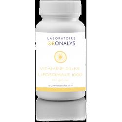 Vitamine D3+K2 Liposomale...