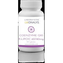 Coenzyme Q10 R-Lipoïc 60/40mg